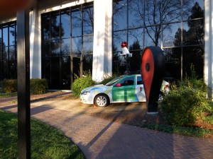 Salado Drive, Google car