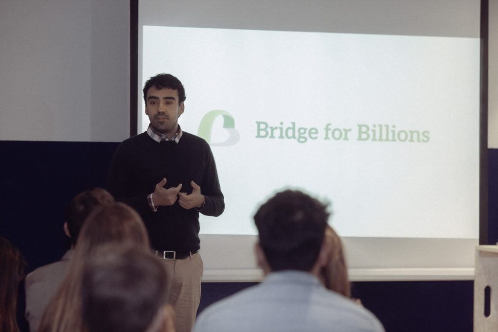 Pablo Santaeufemia, Bridge for Billions
